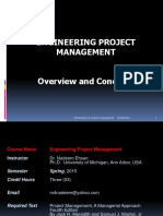 Engg Project Management Lec1-2 (CASE Islamabad)