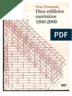 Diez Edificios Canonicos - Peter Eisenman