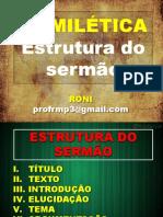 HOMILETICA Estrutura do Sermao.pptx