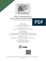 ética profesional en posgrado.pdf