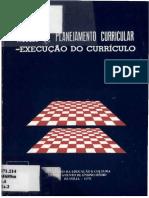 Planejamento e execução do currículo