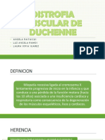 Distrofia muscular de Duchene