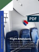 Southwest Flight Attendants Contract Proposal Overview VFinal