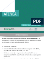 Informe Precios y Salarios | FEDUN - ATENEA