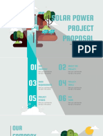 Solar Power Project Proposal by Slidesgo