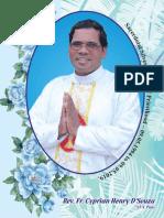 Rev. Fr. Cyprian Henry D'souza Silver Jubilee Souvenir
