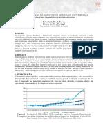 Aeroportos Regionais - Caracterizacao - Classificacao BR- Anpet 2013