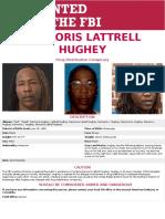 Kennoris Lattrell Hughey Wanted Poster