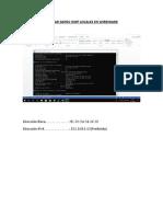 Capturar y Analizar Datos Icmp Locales en Wireshark