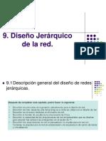 Diseño Jerárquico de La Red