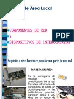 Componentes y Dispositivos de Interconexión.