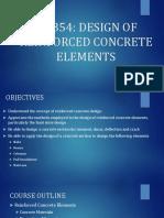 Design of Reinforced Concrete Elements