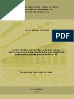 A CONSTRUÇÃO SUSTENTÁVEL SOB A ÓTICA DOS PROFISSIONAIS DA CONSTRUÇÃO CIVIL NAS CIDADES DE FRANCISCO BELTRÃO – PR E PATO BRANCO – PR