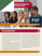 Programación Educativa ENS 2019 1