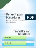 Marketing Por Buscadores PLAN de TRABAJO