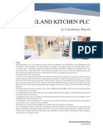 Commercial and Ethical Implications of Lakeland Kitchens Plc. [A Consultancy Report]