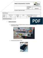 Informe Mantenimiento Preventivo Camion Grua 5 Ton Nissan Condo Livigui