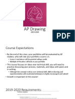 ap drawing 2019 2020 week 1 and 2