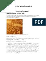Historia del movimiento obrero argentino