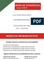 Modelos Probabilisticos (Modelos de Probabilidad)