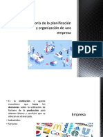 Teoría de La Planificación y Organización de Una Empresa