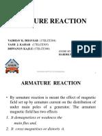 ARMATURE REACTION.pptx