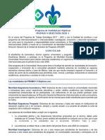 Convocatoria Promuv 2020-1