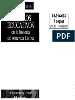 01014003 WEINBERG - Modelos Educativos en La Historia de América Latina