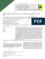 Artigo Sobre Telômeros e Áxido Nítrico