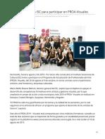 02-08-2019 Abre convocatoria ISC para participar en PROA-Visuales - H.canalsonora
