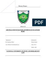 History research paper- Air Pollution in Ranchi- Ignorance is no longer bliss.pdf