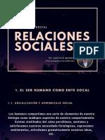 psicología relaciones sociales