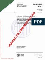 Agregado Graúdo Para Concreto - Determinação Do Módulo de Deformação Estático e Do Diagrama Tensão-Deformação Em Rocha Matriz - Método de Ensaio(Full Permission)