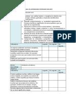 Pauta evaluacion NT2