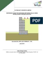 Retaining Wall Concrete Blocks Legato