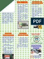 Triptico Del Instituto Superior de Educacion Publica Jose Crespo y Castillo Inscripcion Ante La Administracion Tributaria
