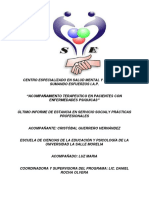 Centro Especializado en Salud Mental y Psiquiatria Sumando Esfuerzos i