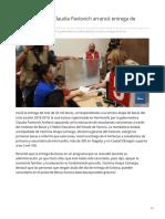 06-08-2019 La Gobernadora Claudia Pavlovich arrancó entrega de becas - Tvpacifico