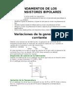 Fundamentos de Los Transistores Bipolares1