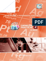 II PUC Chemistry Practical 17