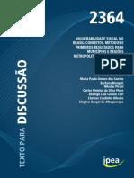 COSTA, Marco - Vulnerabilidade Social No Brasil