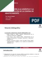 Unidad 1. Introducción a La Lógistica y La Administración de La Cadena de Abastecimiento. 201920