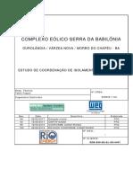 Estudo de Coordenação de Isolamento 34,5kV e 230kV