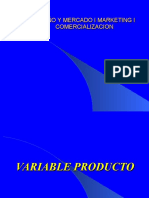 Marketing Variable Produto1