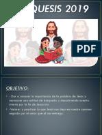 Catequesis 2019