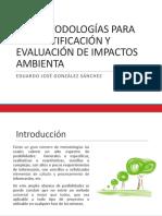 Clase 4. Metodologias Para La Identificacion de Impactos Ambientales