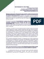 DIVORCIO POR INCOMPATIBILIDAD DE CARACTERES (RESUMEN EXPLICATIVO)