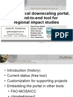 Statistical Downscaling Portal