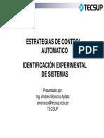 Clase 6 Identificacion Sistemas 2016_2