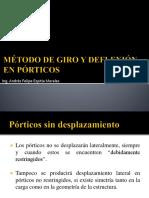 Giro-Deflexion Porticos